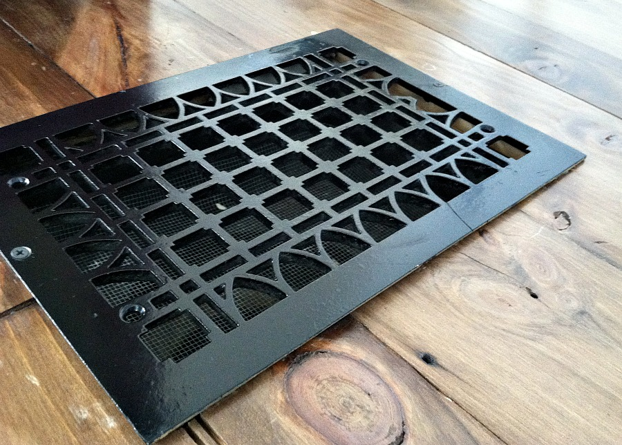 antique floor grate