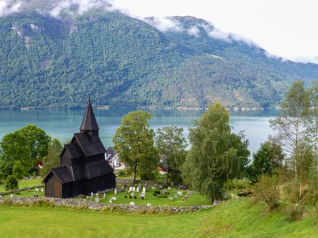Urnes Stave Church, Norway (Unesco World heritage)