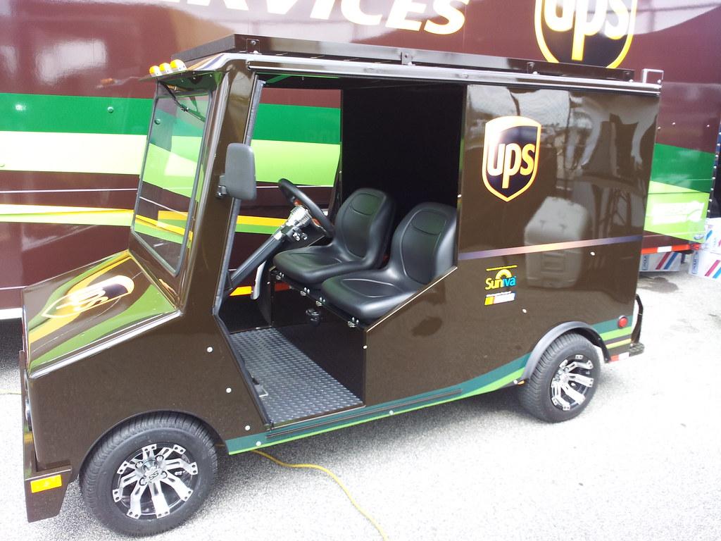 UPS mini truck   Suniva modules are also powering the miniat