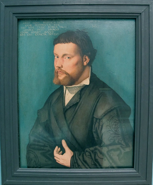Hans Baldung Grien - Self-portrait [1526]