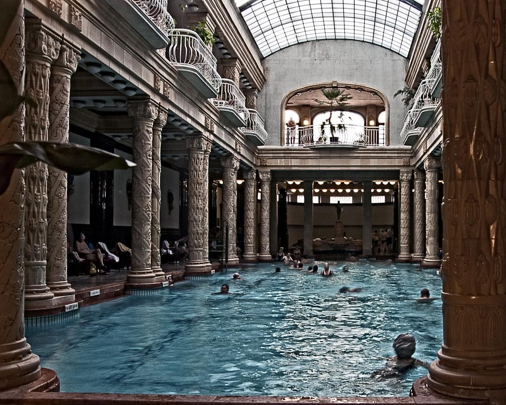 Budapest - Pool of Hotel Gellert