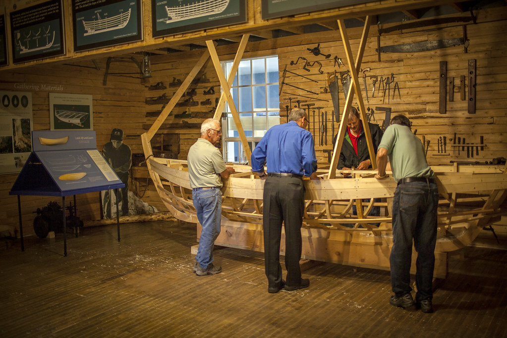Workshop Exhibit Wooden Boat Museum Of Newfoundland And L Flickr