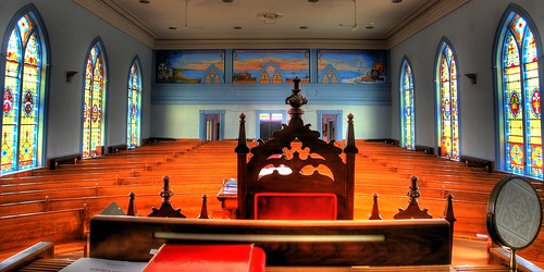 lighting light church choir march interior stainedglass organ pews hdr antigonish choirloft allenorgan photoannum