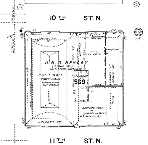 Portland Armory 1908-09