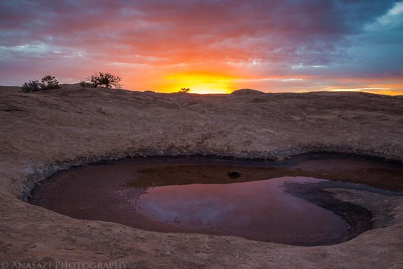Pothole Sunrise