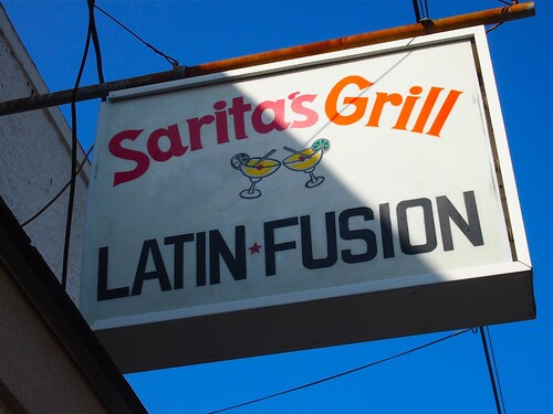 Sarita's Grill Freret Street. Photo by Melanie Merz.