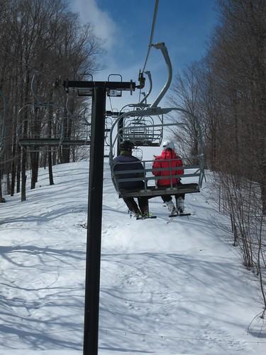 skiing lift killington chairlift jayd 2013 sheenah march2013