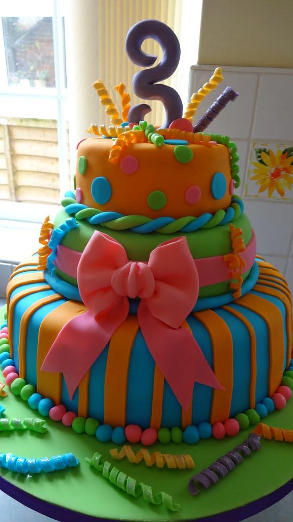 Strange 3Rd Birthday Cake Sheena Wallington Flickr Funny Birthday Cards Online Alyptdamsfinfo