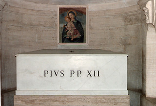 St. Peter's Basilica - Tomb of Pope Pius XII