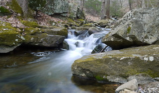 small cascade on Rhinehart Brook | by Keithius