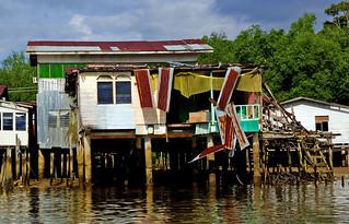 The water village Brunei.