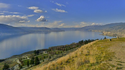 blue sky lake canada landscape britishcolumbia okanagan sunny panasonic penticton okanaganlake lx5 munsonmountain nigeldawson dmclx5 jasbond007 copyrightnigeldawson2013