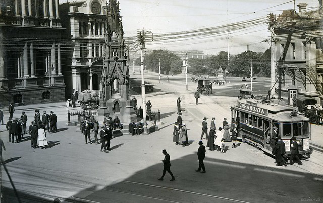 Custom House Square (now the Exchange) Comfort Station, 1919