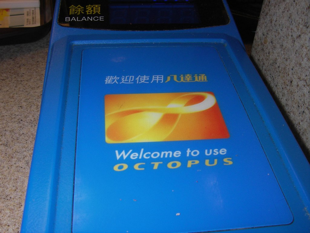 Octopus Card - THE most efficient thing EVAR | Lee LeFever