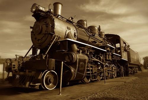 old travel blur wheel sepia train vintage geotagged nikon spoke engine rail retro steam piston burning locomotive d200 coal nikkor essex vignette engineer 1926 cotcmostinteresting 18200mmf3556gvr geolat41387754 geolon72426571 impressedbeauty
