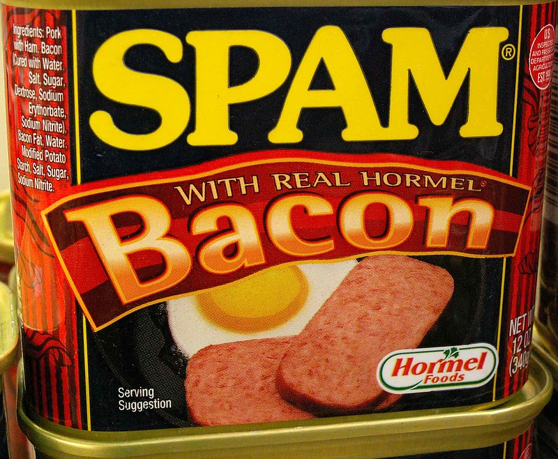 Spam, Now with Real Bacon!