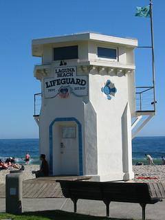 Main Beach Lifeguard Tower | by peterkreder