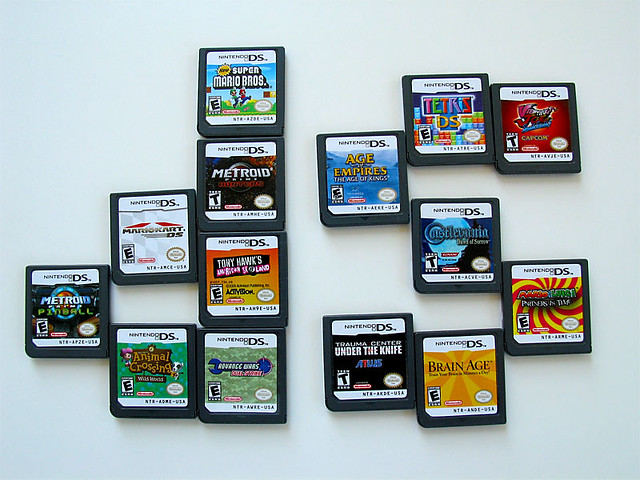 My DS Game Collection