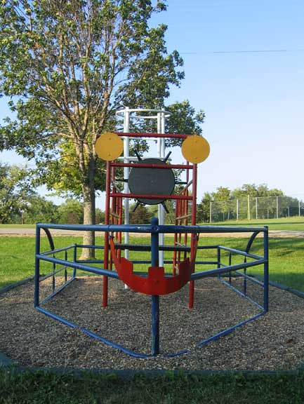 Old Playground Steamboat Willie Jungle Gym Marceline, MO