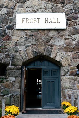 Frost Hall Door, Gordon College