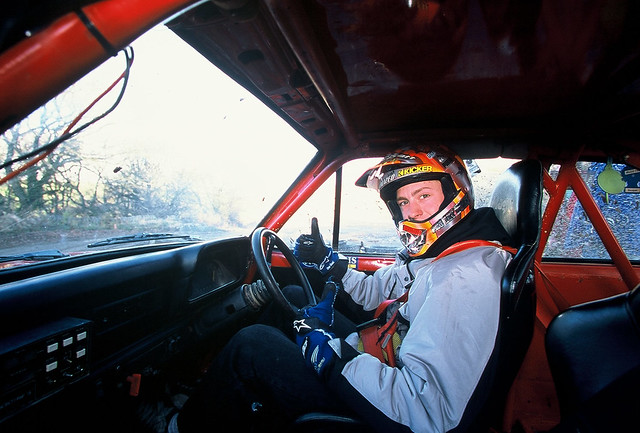 Travis Pastrana at Phil Price Rally School - 2001