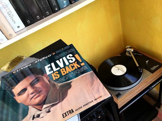 Elvis Is Back! [Explored]