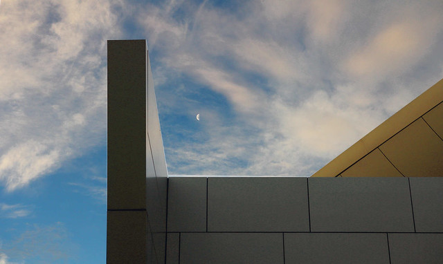 Moon Over Campbelltown Arts Centre