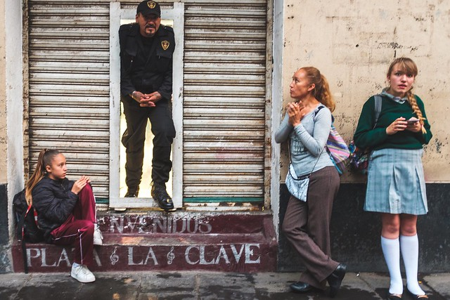 A candid shot in the streets of Mexico City.