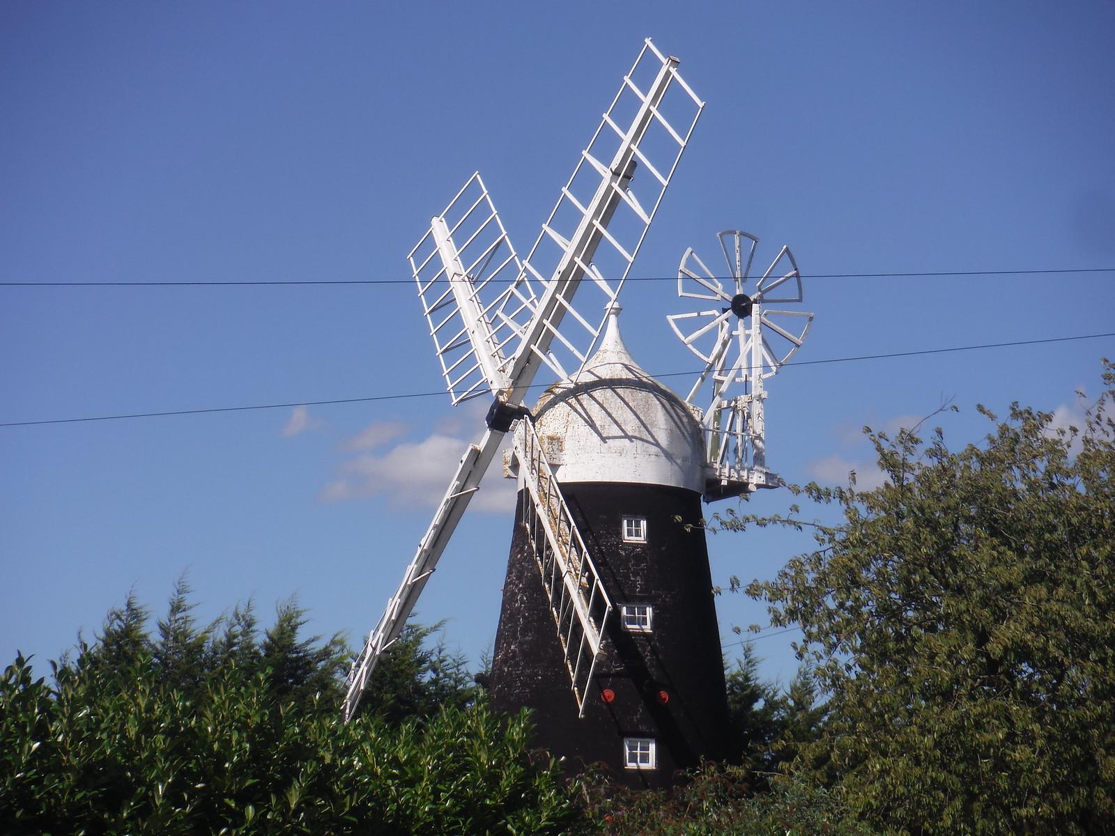 Windmill, Stretham SWC Walk 118 Ely Circular