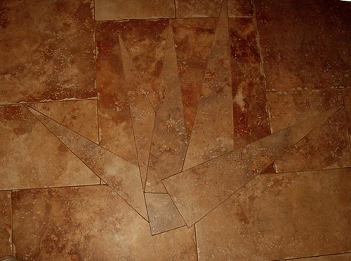 Porcelain tile design