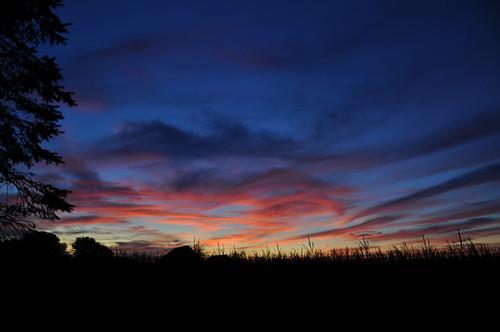 sunset sky canada qué́bec