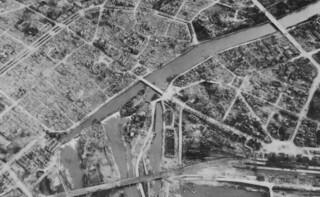 Heilbronn - Air View of City Center (Detail), April 1, 1945