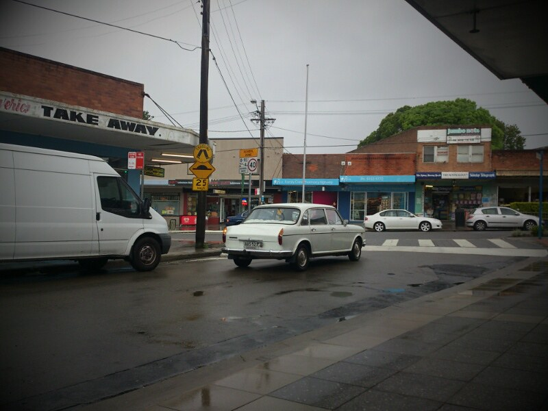 I did but see her passing by......Narwee, NSW.