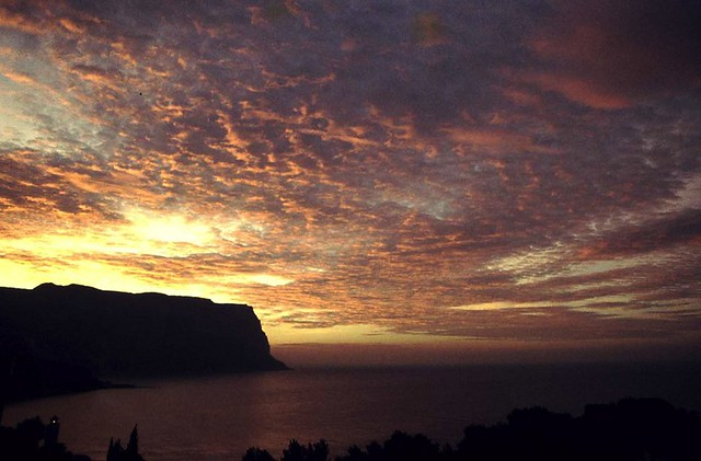 Cap Canaille sunrise - Cassis - France