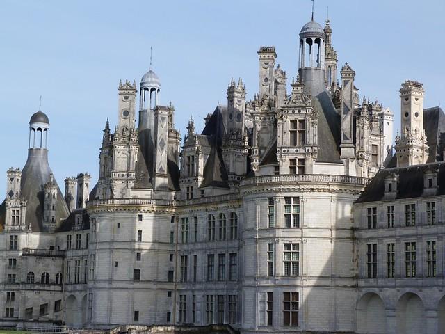Castillo de Chambord, uno de los mejores castillos del Loira para visitar