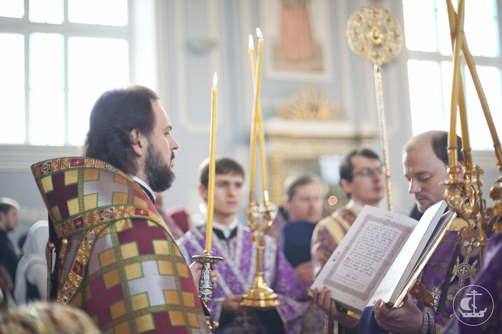 23 марта 2013, Всенощное бдение накануне Недели Торжества Православия