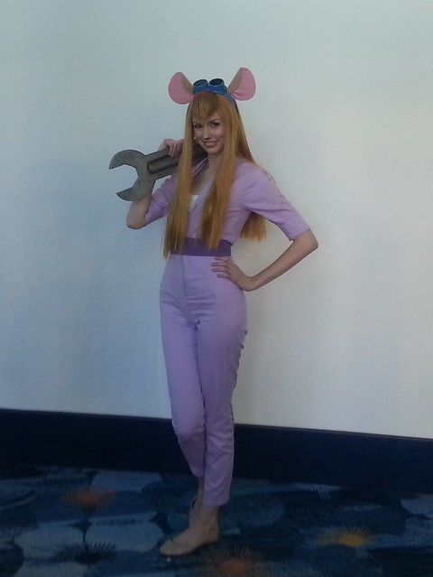 Gadget from Rescue Rangers
