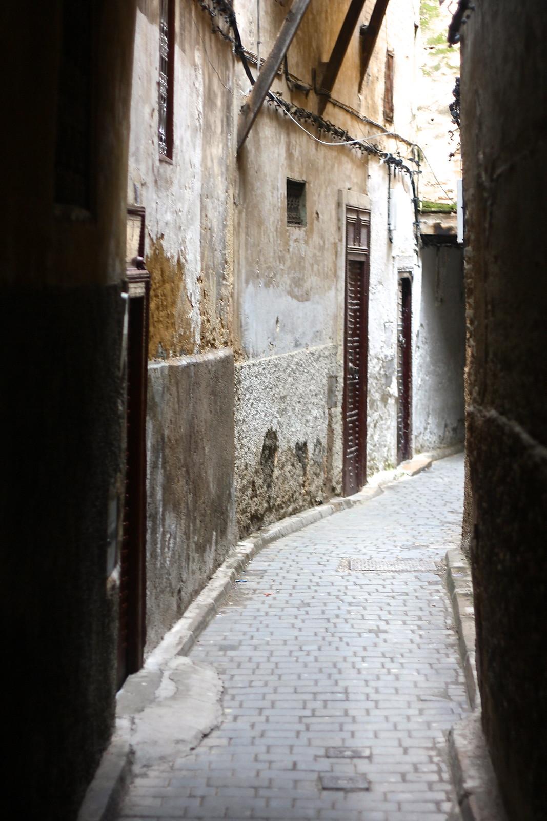 Fez medina street, Morocco