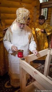 Освящение храма в Кремле 40