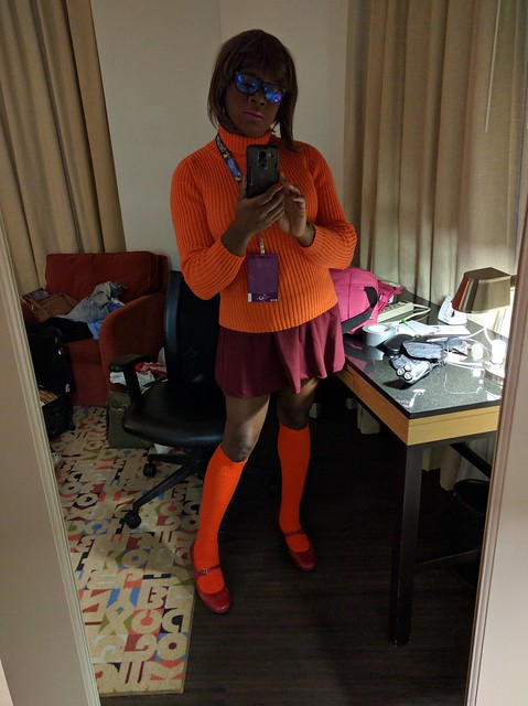 Thursday Night Velma Selfie