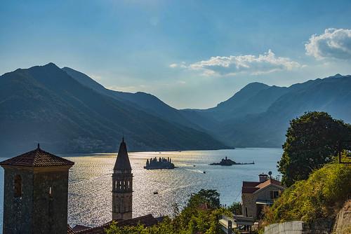 europe travel nikon montenegro kotor mountianhaze bluesky bayofkotor nikkor mountian 28300 islands