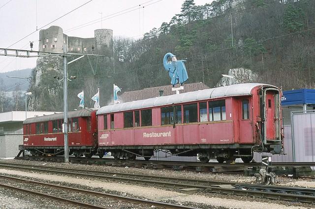 1994-02, OeBB/RhB, Klus (bei Balsthal)