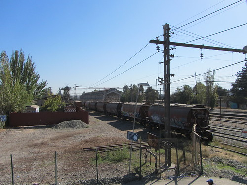 chile tren estacion rancagua ferrocarril