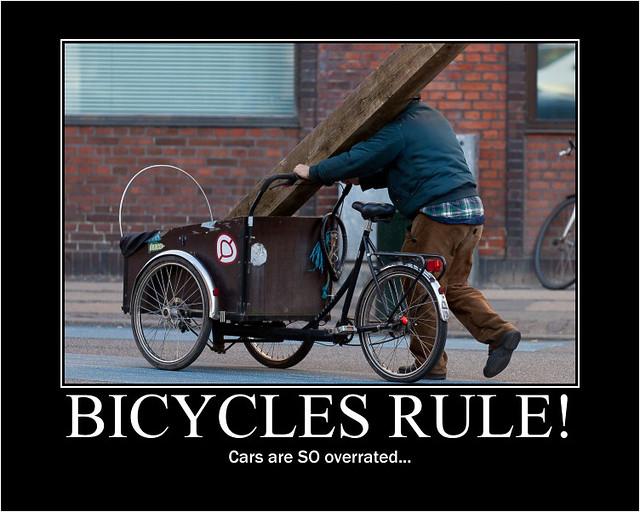 Bycyles Rule! Cars are SO overrated - Copenhagen Bikehaven by Mellbin