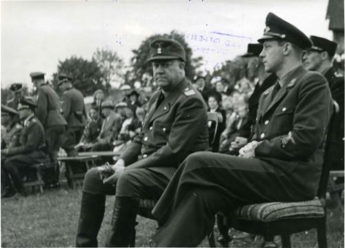 Vidkun Quisling på Hamarstevnet 1943.