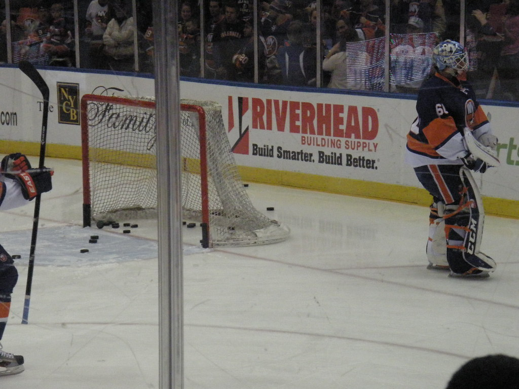 Isles v Panthers 4-16-13: Out of Position