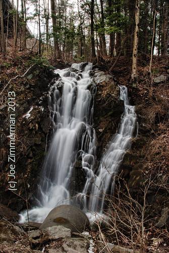 waterfall vermont falls waterfalls roadside unnamed drainpipe brattleboro vt drainage dummerston route30 highway30 brattleborovermont westriverroad foundfalls vermontdreams