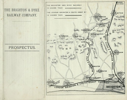 Brighton and Dyke Railway Company Prospectus and map.jpg | by ian.dinmore