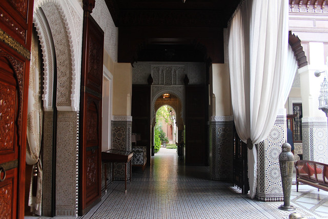 Royal Mansour Hallway