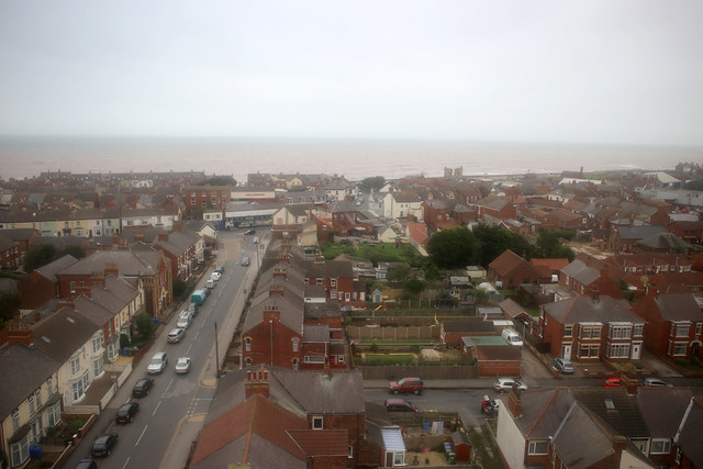 View from the lighthouse at Withernsea